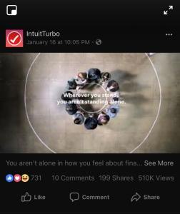IntuitTurbo Facebook ad